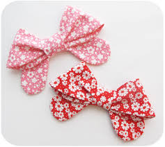 fabric bows today i made fabric bows michellepatterns