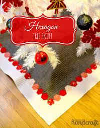 hexagon tree skirt u2013 tutorial u2013 modern handcraft