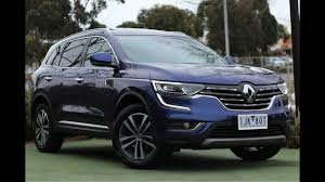 renault koleos 2017 7 seater b7148 2017 renault koleos intens auto 4wd walkaround video youtube