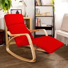 amazon com haotian comfortable relax rocking chair with foot