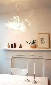 Diy Glass Bubble Chandelier My Single Bulb Version Of The Jean Pelle Original Jean Pelle