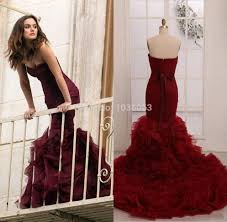 burgundy dress for wedding burgundy wedding dress rosaurasandoval