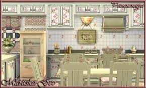 shabby chic kitchen furniture shabby chic kitchen at maruska geo sims 4 updates