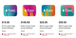target offering 30 discount on second itunes gift card