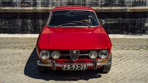 vintage alfa romeo car 1970 alfa romeo 1750 gtv airows