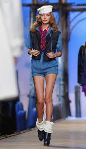 Nautical Theme Fashion - spring summer 2011 fashion show for christian dior in paris