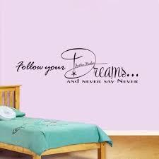bedroom lyrics justin bieber lyrics wall stickers never say never boy s bedroom