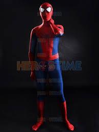 Body Halloween Costumes Adults 2015 3d Printing Spider Man Superhero Costume Spandex Fullbody