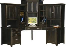 Country Style Computer Desks - hutch style desk corner desk with hutch staples country style