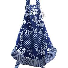 Cute Aprons For Women Amazon Com Floral Apron For Women With Pockets Extra Long Ties