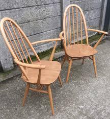 Ercol Armchair Fine Pair Of Ercol Quaker Armchairs Very Clean Condition