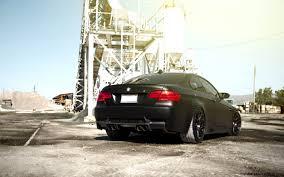 matte black car bmw e92 m3 black car front hd wallpaper hd wallpapers