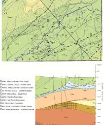 Map Of Central Massachusetts by An Organic Geochemical Investigation Of The Carboniferous Mabou