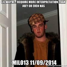 Lil Wayne Be Like Meme - best lil wayne memes genius