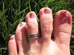 nail art for your beautiful feet nailkartcom 50 spring nail art