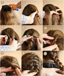 hairstyles with steps easy hairstyles for very short hair to do at home step by hairstyles