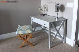 Diy Vanity Table Flip Top Vanity Free Diy Plans Rogue Engineer