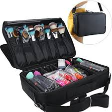 makeup artist box travelmall makeup 3 layers cosmetic organizer beauty