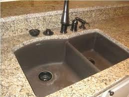 black granite composite sink best granite composite kitchen sinks blanco silgranit natural within