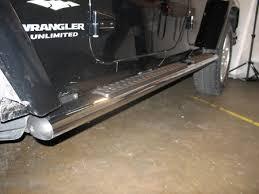 mopar side steps for jeep wrangler unlimited jeep side installation autotrucktoys com