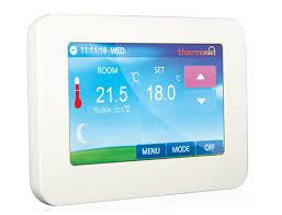bathroom underfloor heating thermostat thermotouch underfloor heating thermostat