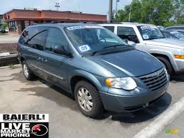 2005 atlantic blue pearl chrysler town u0026 country touring 50329326