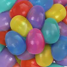 jumbo plastic easter eggs empty plastic easter eggs 2 8531 translucent clrs 1000 from