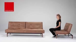 Sofa Bed Design Interior Splitback Sofa Bed Wood Leg Innovation Living Youtube