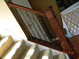 carpinter 237 a ebanister 237 wood stairs and rails and iron balusters iron balusters near main