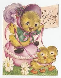 Vintage Easter Decorations Ebay by 745 Best Easter Cards Vintage Images On Pinterest Vintage