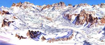 Piste Maps For Italian Ski by Cortina Guide Coverwise
