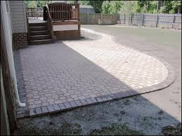 Types Of Patio Pavers by Patio Pavers Designs Interlocking Brick Paver Designs