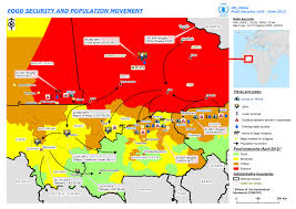 Population Map Of Africa by Mali Map Of Food And Refugee Crisis Wfp United Nations World