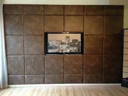 Bedroom Wall Padding Acoustic Padded Wall Panels Feature Wall Custom Size Upholstered