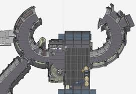 Millennium Falcon Floor Plan by Screen Accurate Millennium Falcon Cockpit Cg Model