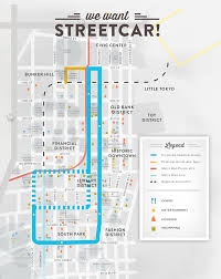 San Francisco Streetcar Map City Council Signs Off On Route For Proposed Downtown La Streetcar