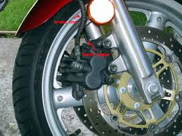 bluepoof bikes suzuki sv650s bleeding brakes