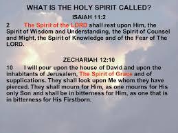 the holy spirit by harold harstvedt ppt