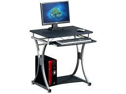 pc bureau compact bureau pour pc bureau pour pc avec tiroir escamotable compact noir