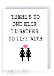 Lesbian Love Memes - lesbian greeting cards 588 best flamingo lingo greetings cards