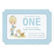 puppy first birthday cards greeting u0026 photo cards zazzle