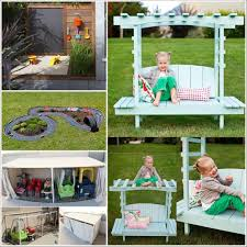 fun backyard diy projects for kids image with mesmerizing backyard