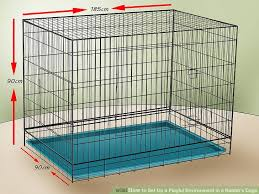 Stackable Rabbit Hutches How To Set Up A Playful Environment In A Rabbit U0027s Cage 10 Steps