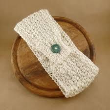 crochet ear warmer headband crochet ear warmer headband with button pattern crochet and knit
