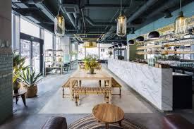 restaurants the best place to find industrial lighting design