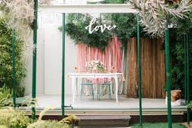 wedding backdrop garden pastel garden wedding inspiration pink wedding 100 layer cake
