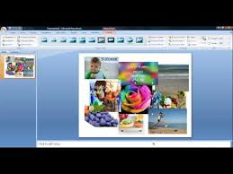 design von powerpoint in word how to create a collage in powerpoint youtube