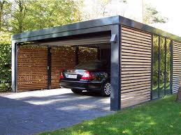 modern garage plans the look of our garaging black with wooden slats and a timber
