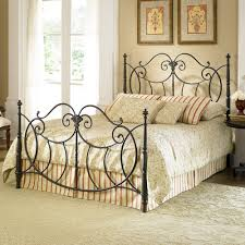 bedroom wrought iron beds wrought iron bed antique white