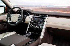 old land rover discovery interior 2017 land rover discovery 7 things to know the drive